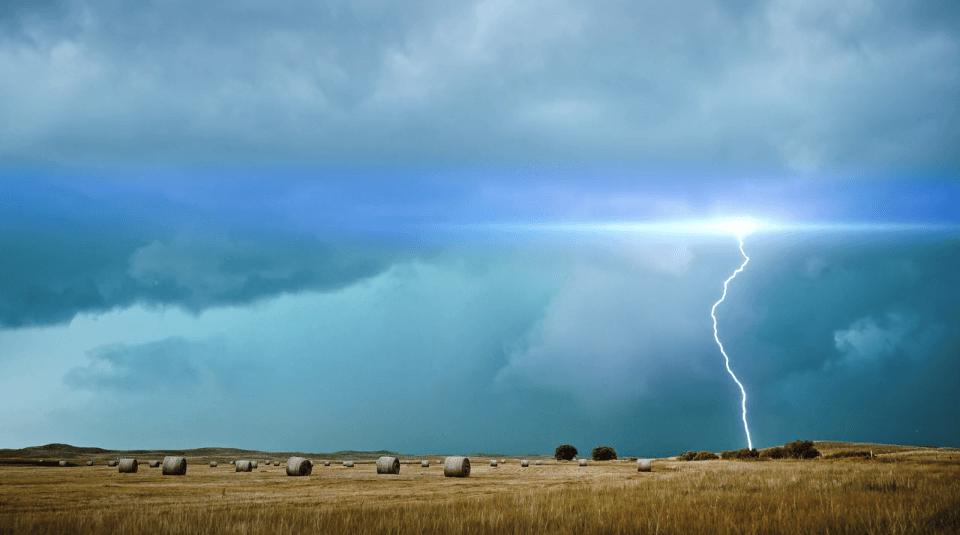impacto de rayos Transient
